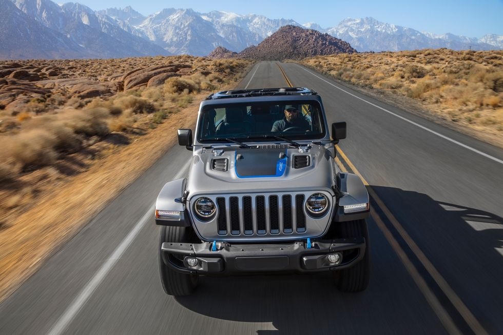 2021 Jeep Wrangler New 4xe Hybrid Plug in Hood